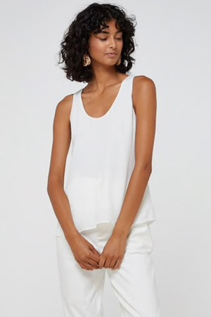ELKA COLLECTIVE - Abella Tank White - Style on Point