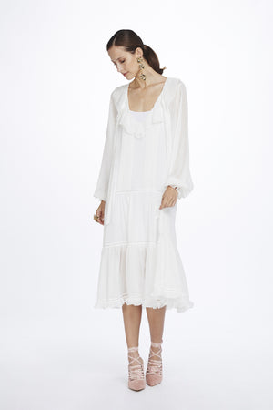 WE ARE KINDRED - Elodie Pintuck Midi Dress
