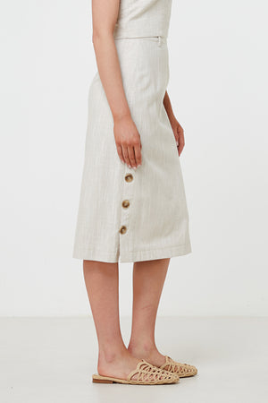 Elka Collective - Ornella Skirt Natural - Style on Point