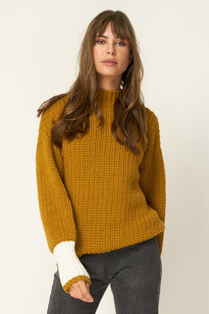 RUE STIIC - Sienna Knit in Gold - Style on Point