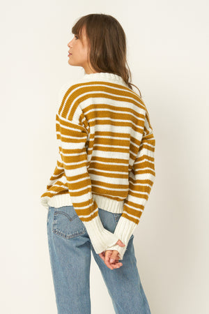 RUE STIIC - Alexandra Sweater Knit in Gold - Style on Point