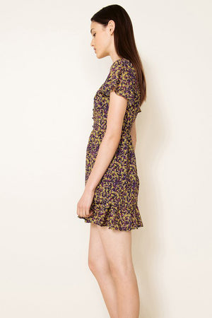 THE EAST ORDER - Mags S/S Mini Dress