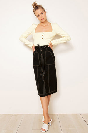THE EAST ORDER - Junee Midi Skirt