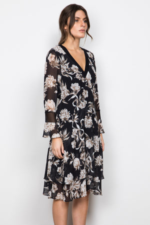 WISH - Interbloom Midi Dress