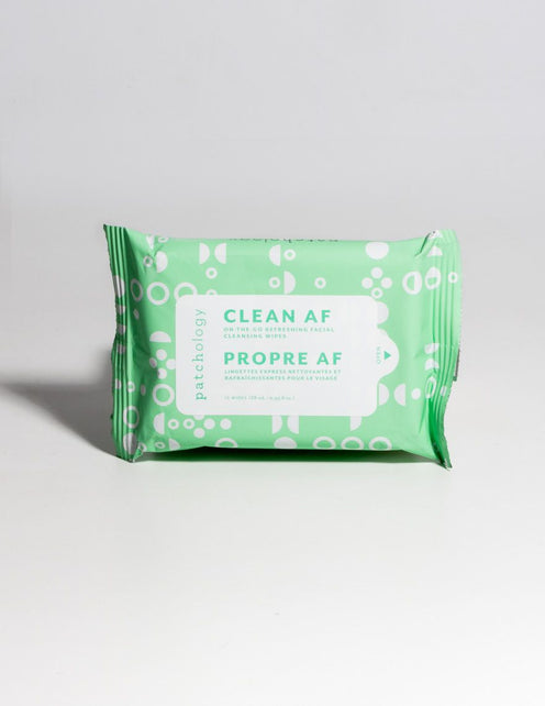 Clean AF Cleansing Facial Wipes