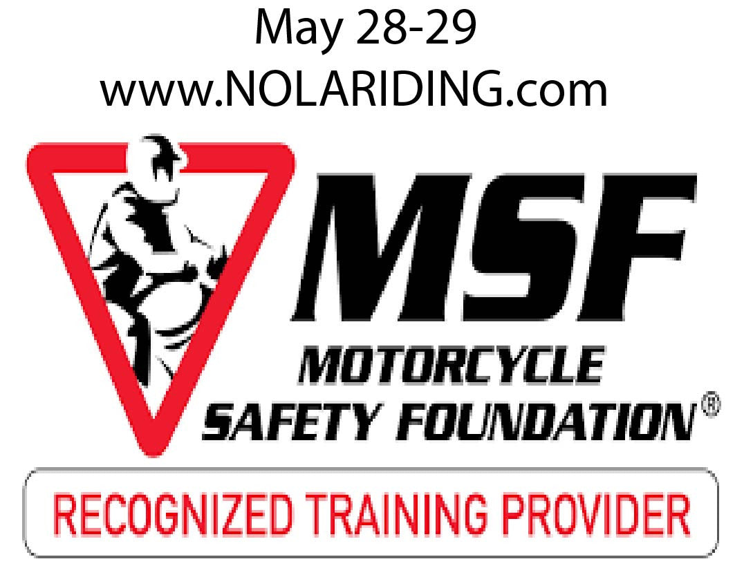 Motorcycle Safety Foundation MSF Classes