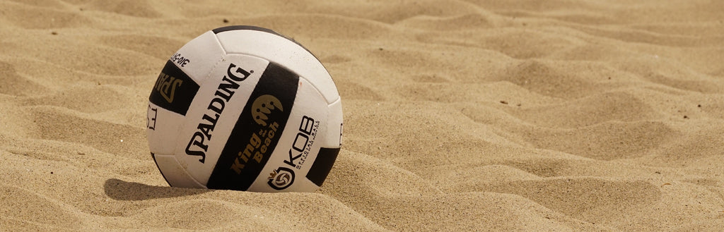 King of the Beach® and Queen of the Beach™ Volleyballs by Spalding®