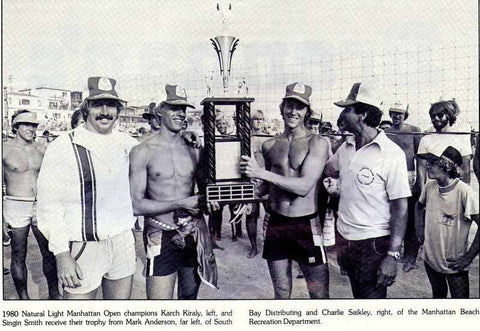 1980 manhattan beach open champions with karch kiraly smith went on to win 5 manhattan beach open titles