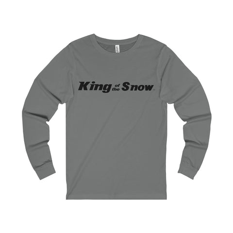 King Of The Snow™ Men's Long Sleeve Tee