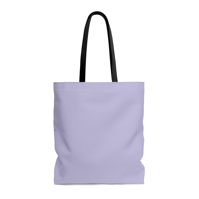 "Queen of the Beach® Circle Crown ""Meeting"" Lilac Tote"