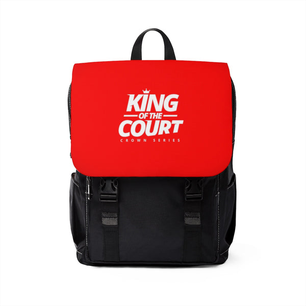King of the Court™ Unisex Casual Shoulder Backpack