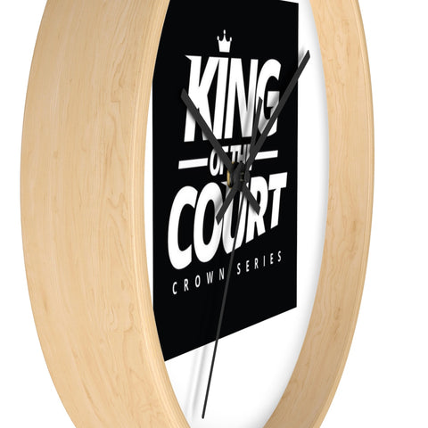 King of the Court™ Crown Series Wall clock