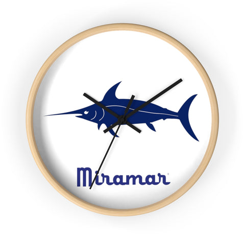 Miramar® Swordfish Collection Wall clock