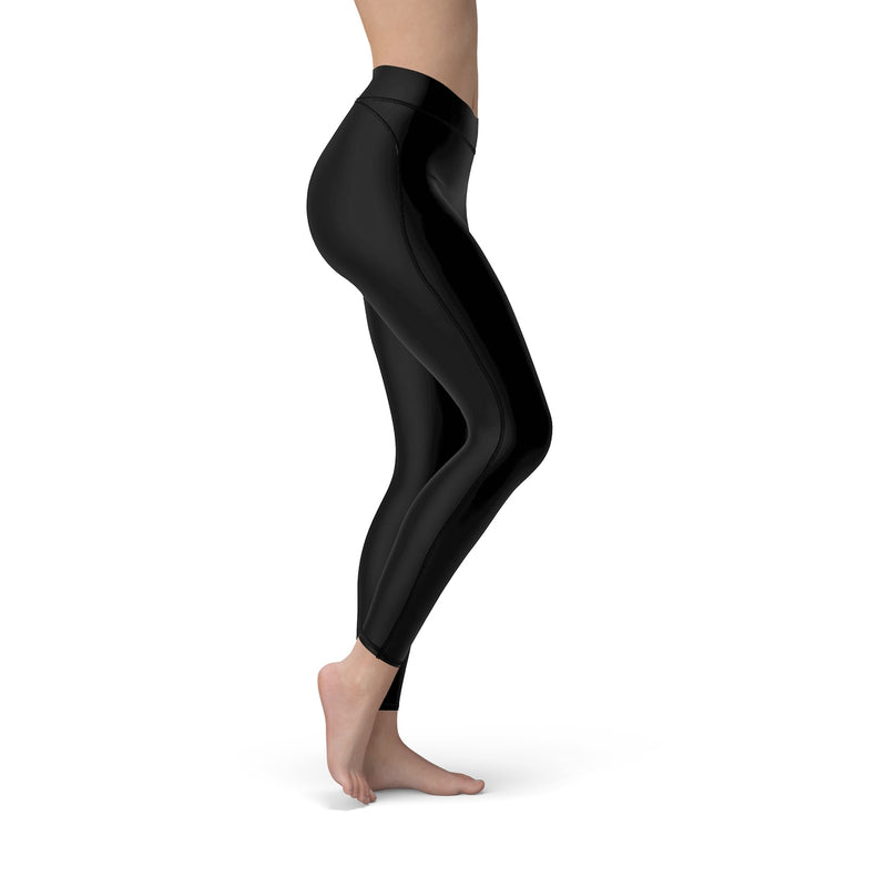 Queen Of The Beach® x Mikasa® Black Women's Sport Leggings