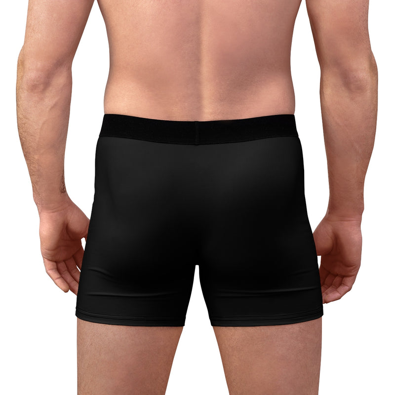 King of the Court™ Black Men's Boxer Briefs