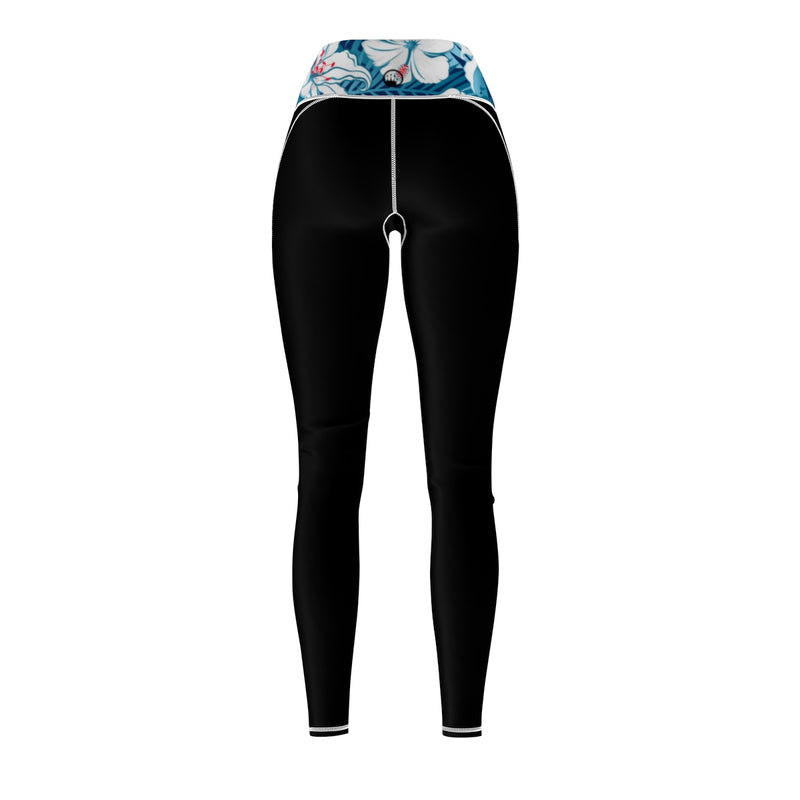 Queen Of The Beach® Women's Paradise Shield Logo Sports Leggings