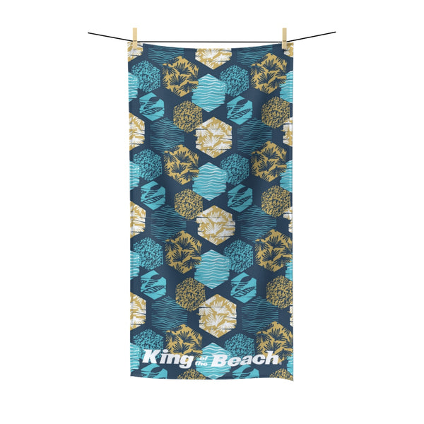 King Of The Beach® Surf Beach Towel