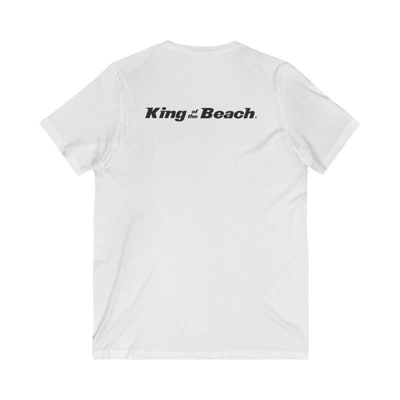 King Of The Beach™ Hermosa Beach Collection Men's V-Neck Tee