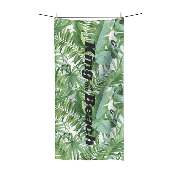 King Of The Beach® Baja Palm Beach Towel