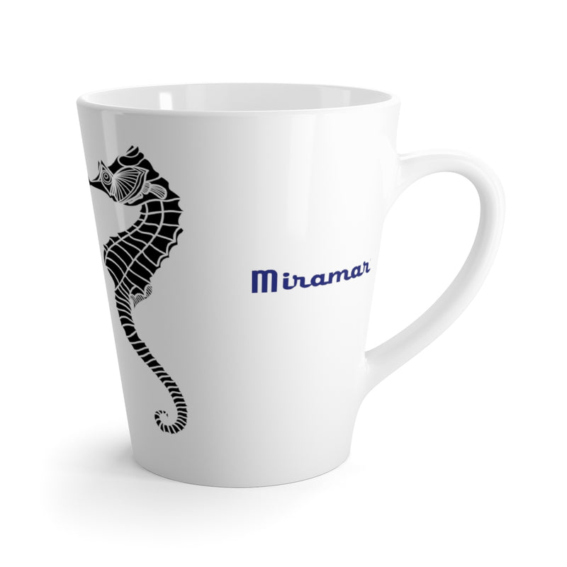 Miramar® Seahorse Collection Latte Mug