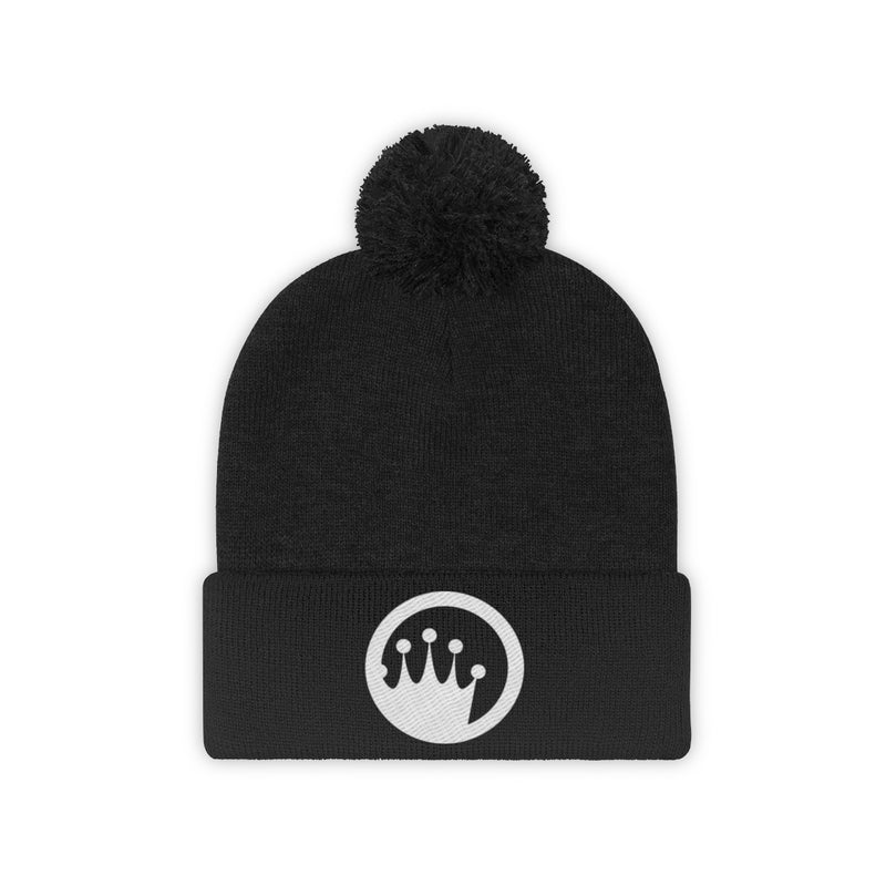 King of the Beach® Circle Crown Series Pom Pom Beanie