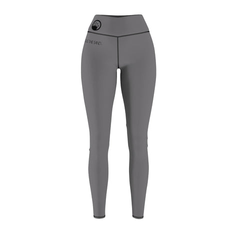 Queen of the Beach® Women's Circle Crown Grey Leggings