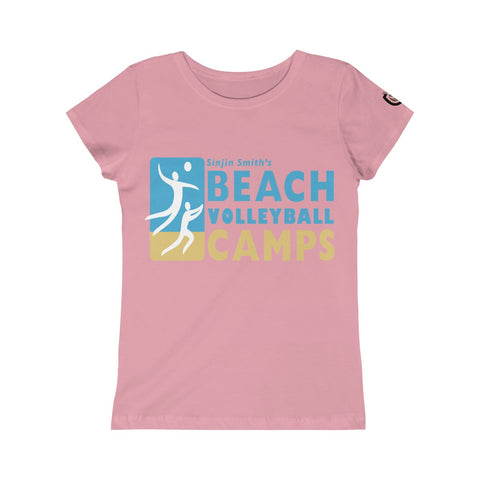 Queen Of The Beach™ Sinjin Smith's Beach Volleyball Camps Girls' Tee