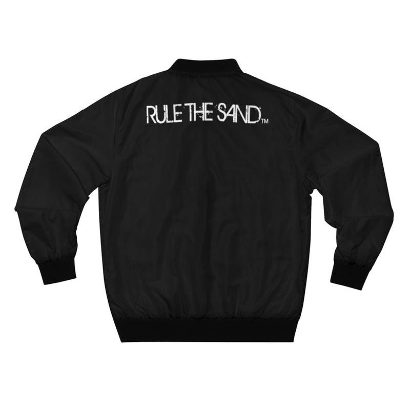 King of the Beach® Men's Rule The Sand AOP Bomber Jacket
