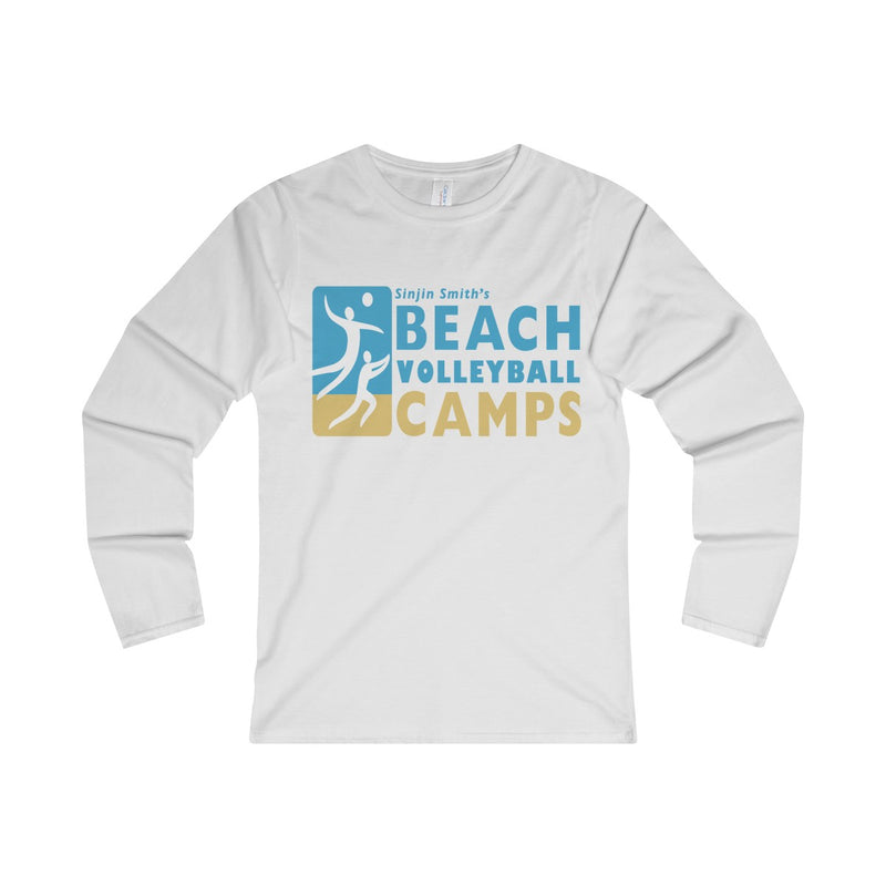 Queen Of The Beach™ Sinjin Smith's Beach Volleyball Camps Women's Long Sleeve