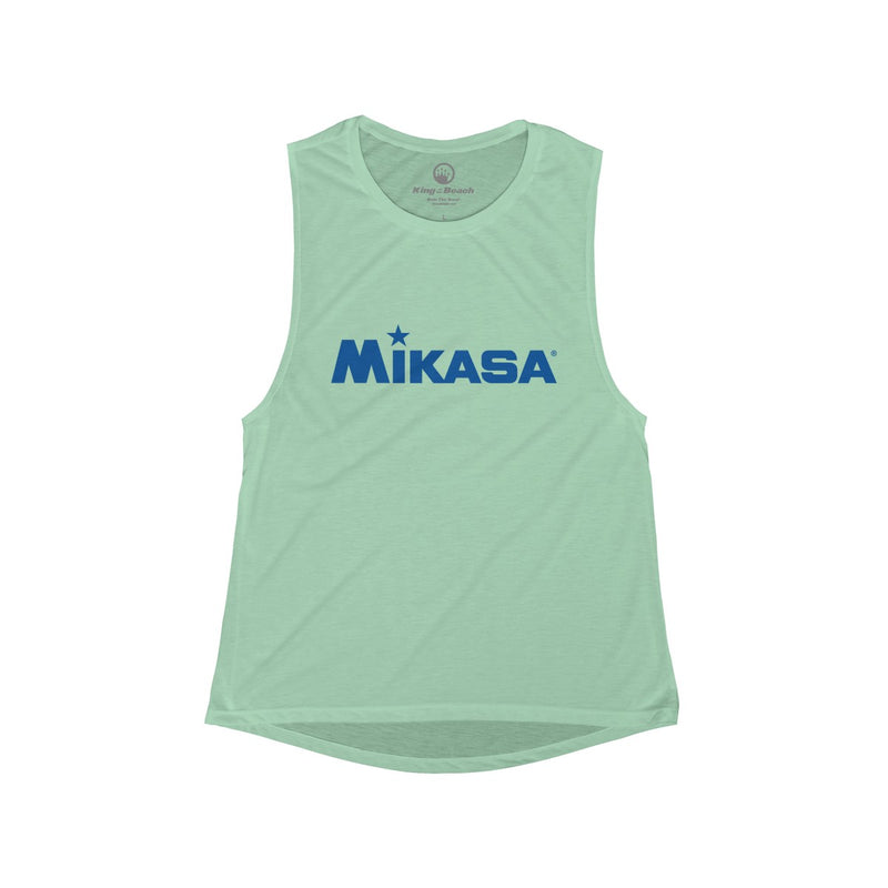 Queen of the Beach® x Mikasa® Signature Women's Scoop Muscle Tank