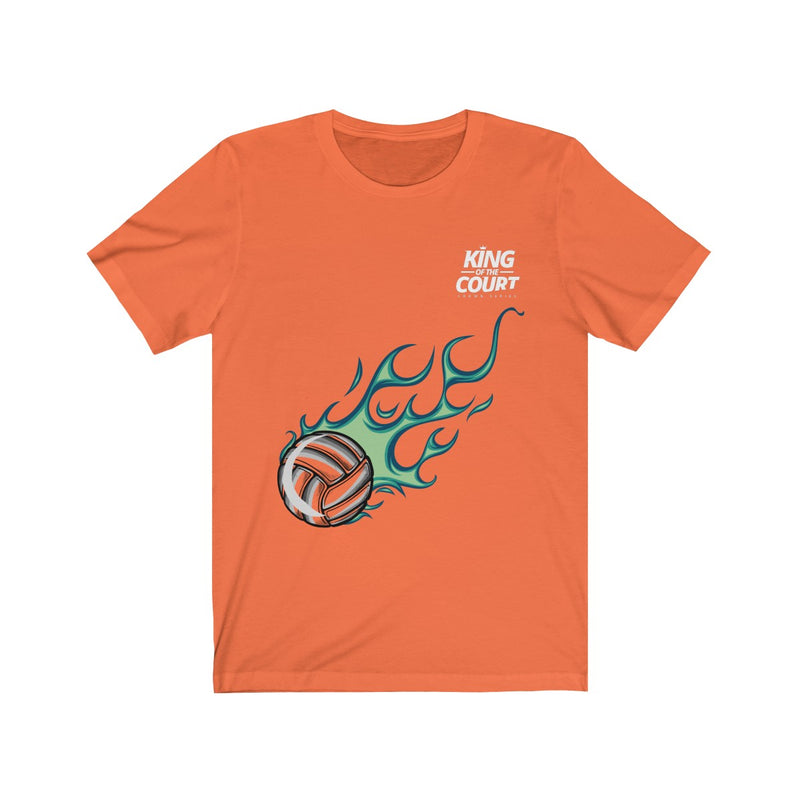 King of the Court® Fire Ball Collection Short Sleeve Tee