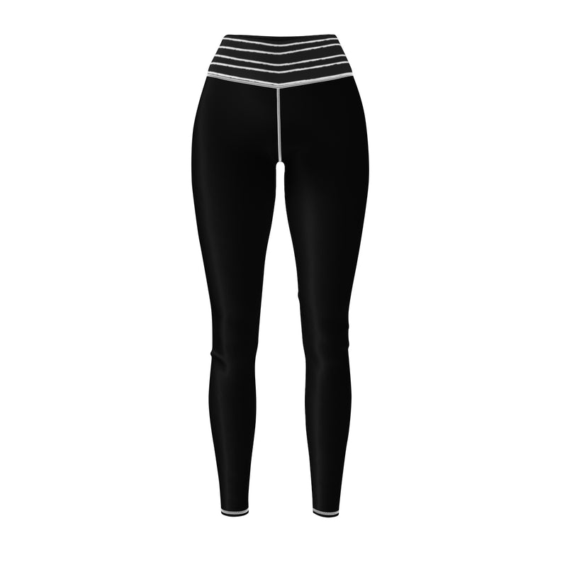 Queen Of The Beach® Women's Strip Circle Crown Sports Leggings