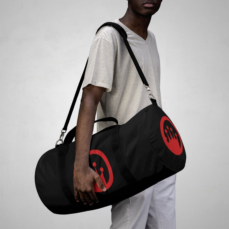 King of the Beach® Circle Crown Series Red & Black Duffle Bag
