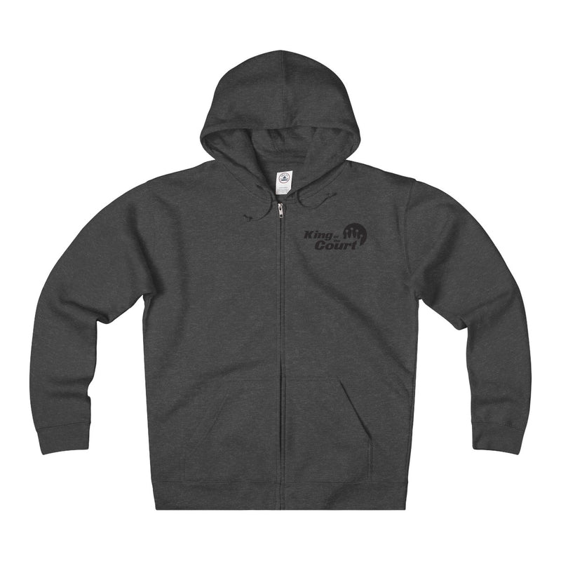 King of the Court® Unisex Heavyweight Fleece Zip Hoodie