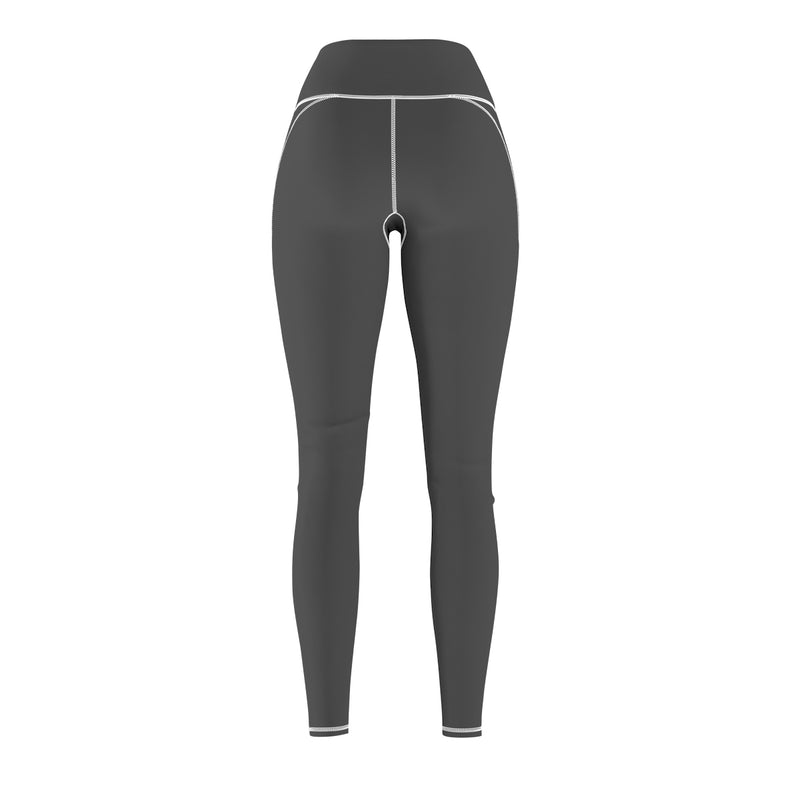 Queen Of The Beach™ Hermosa Beach Collection Dark Grey Classic Women's Leggings