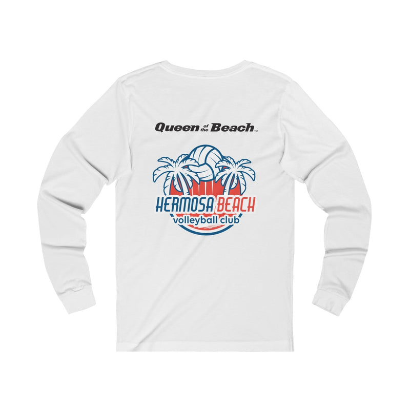Queen Of The Beach™ Hermosa Beach Collection Women's Jersey Long Sleeve Tee