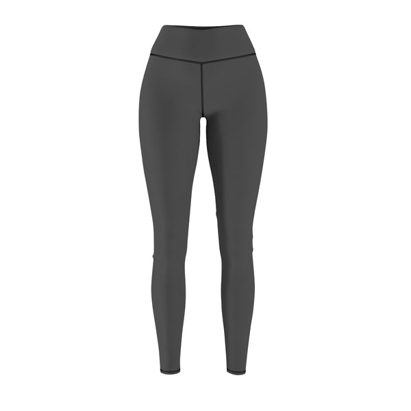 Queen Of The Beach® Women's Grey Basic Circle Crown Sports Leggings