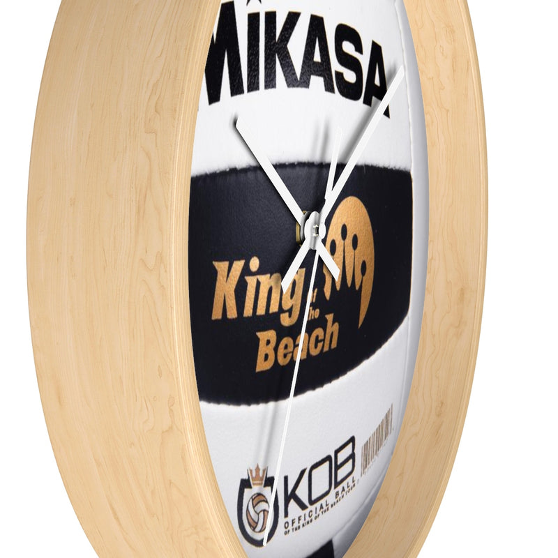 2020 King of the Beach Mikasa Volleyball Wall clock