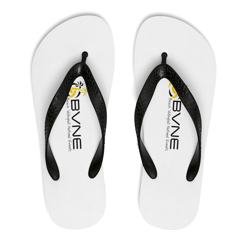 Queen Of The Beach® BVNE™ Collection Signature White Flip-Flops