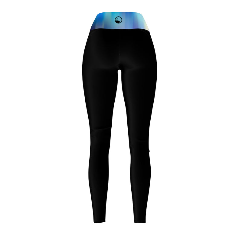 Queen Of The Beach® Women's Disco Tech Circle Crown Sports Leggings
