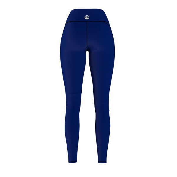 Queen Of The Beach® Women's Navy Blue Basic Circle Crown Sports Leggings