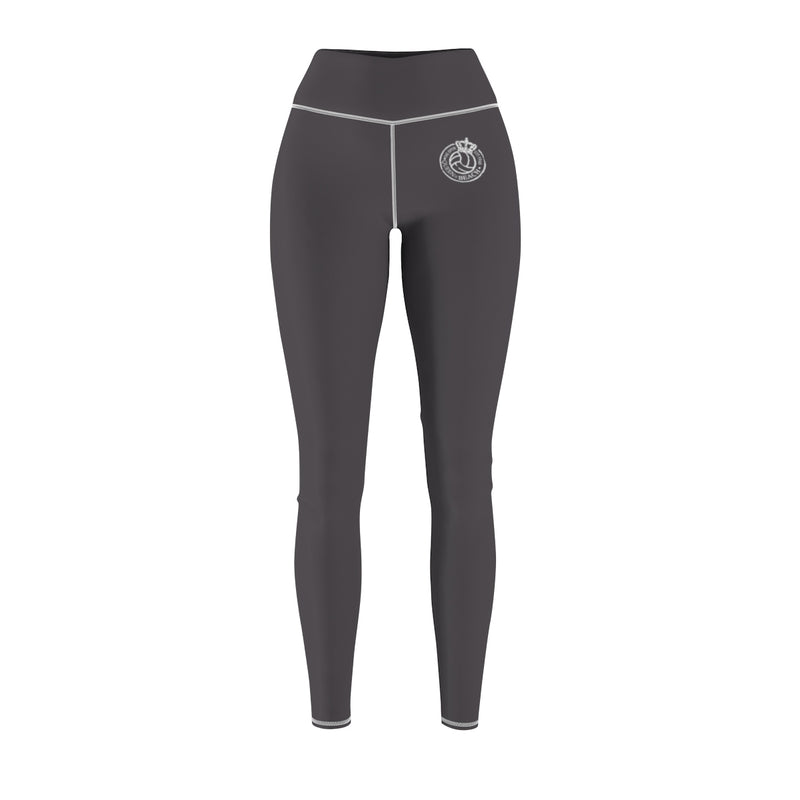 Queen Of The Beach® Old School Logo x Rule The Sand Grey Women's Leggings