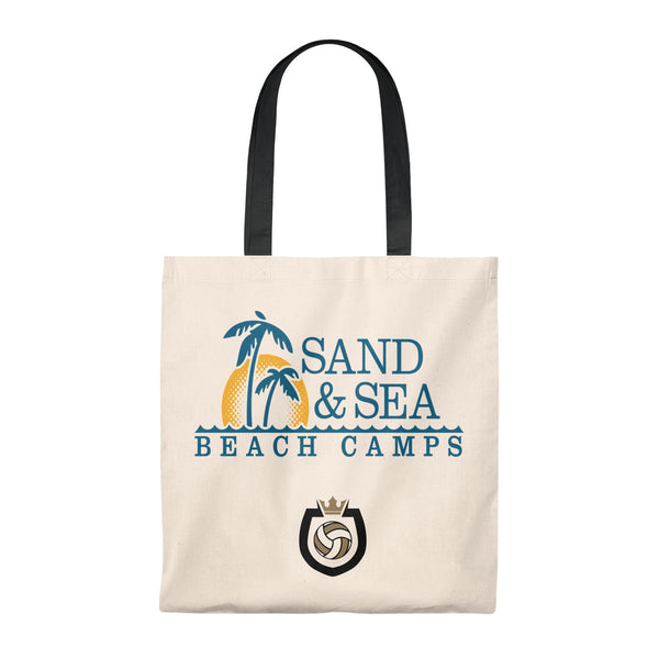 Queen Of The Beach™ Sand & Sea Beach Camps Collection Tote Bag - Vintage
