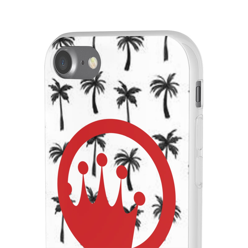 King of The Beach® Red Circle Crown Palm Flexi Cases