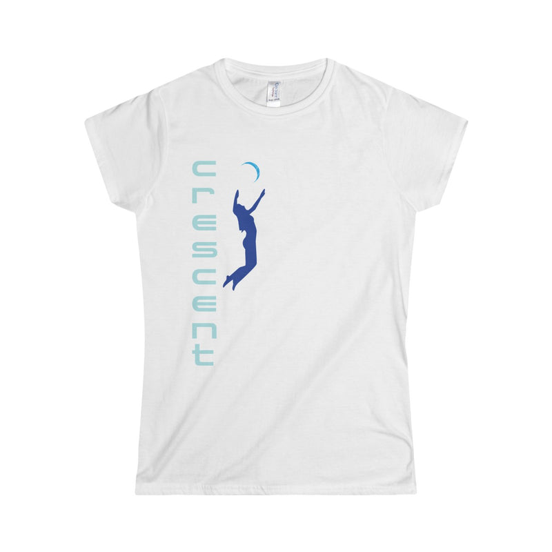 Queen Of The Beach™ Cresent Volleyball Collection Women's T-Shirt