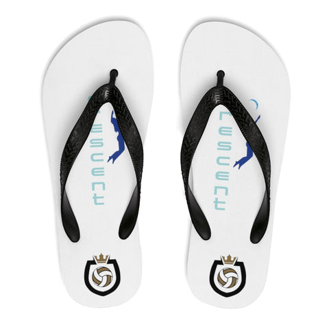 King Of The Beach™ Cresent Volleyball Collection Unisex Flip-Flops