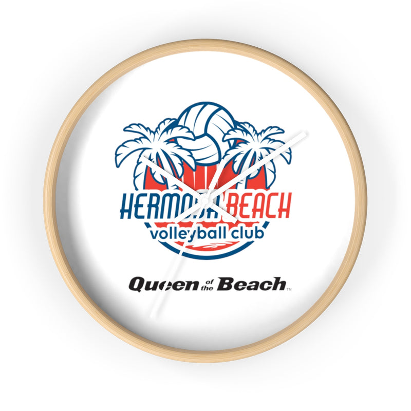 Queen Of The Beach™ Hermosa Beach Collection Wall clock