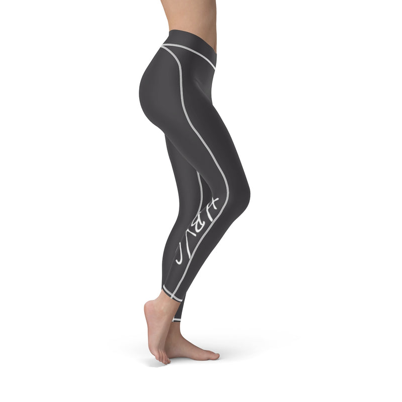 Queen Of The Beach® Hermosa Beach Collection Dark Grey Women's Sport Leggings