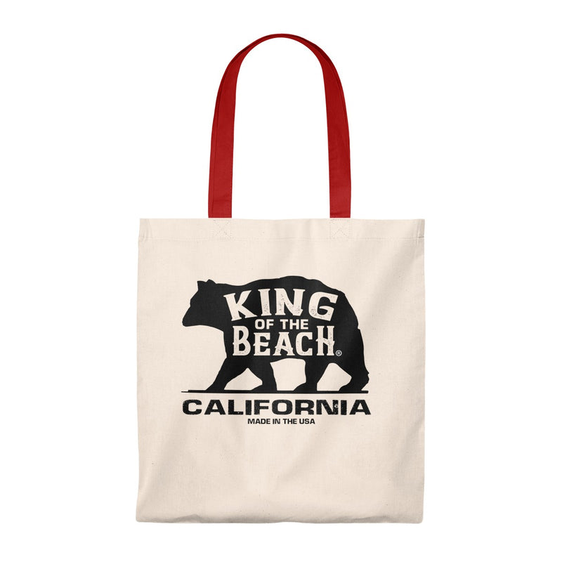 King Of The Beach® California Collection Tote Bag - Vintage