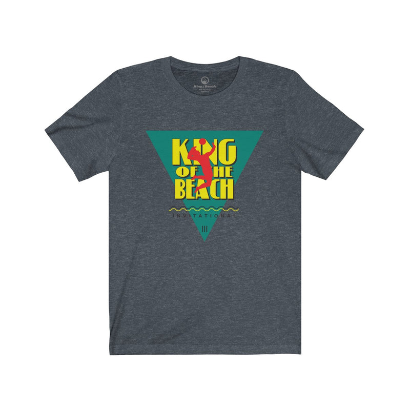 King Of The Beach® Classic Invitational Unisex Jersey Short Sleeve Tee